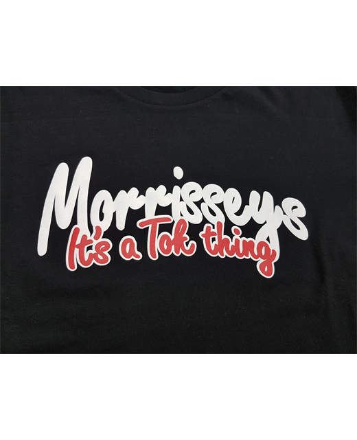 MORRISSEYS ITS A TOK THING TEE